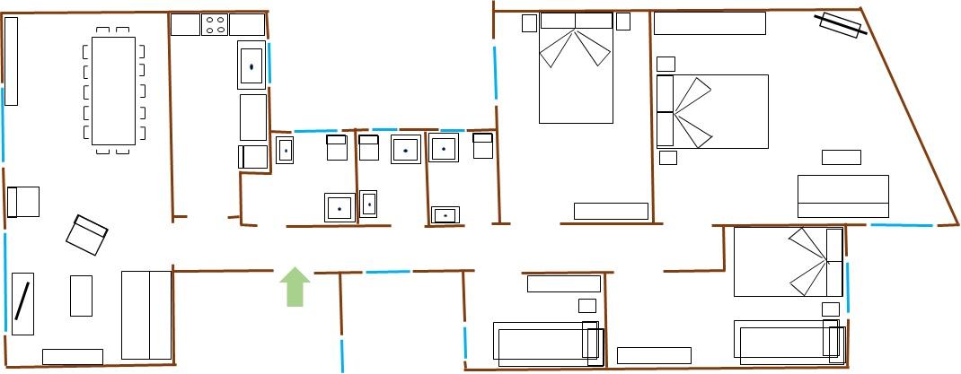 Apartment TARRADELLAS 3  PARA 14 PERSONAS  muy cerca Estacio de Sants  llegada tren aeropuerto  muy bien comunicado y rodeado de comercios y restaurants photo 22330433