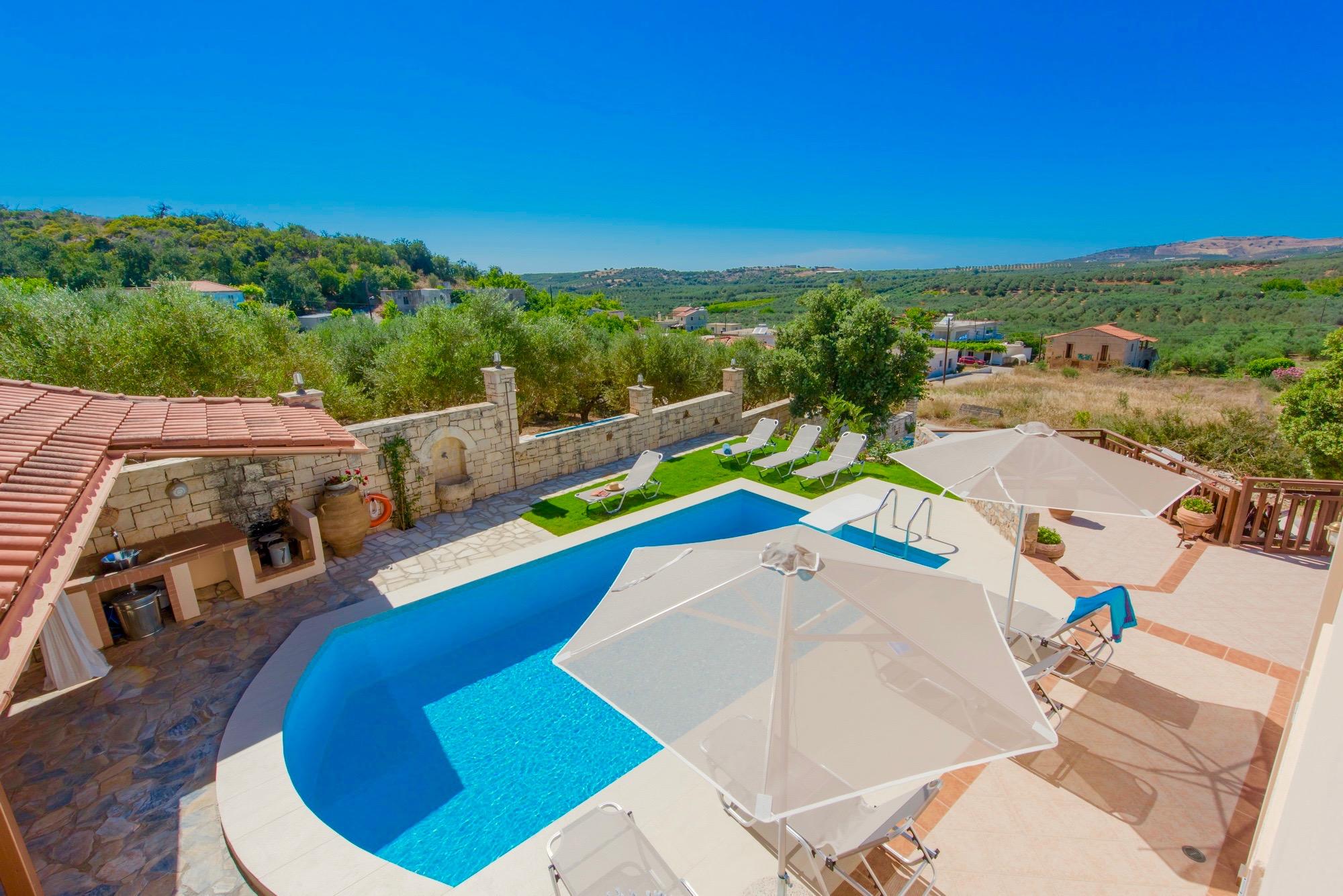 Ferienhaus Luxury Villa Korini with private swimming pool (2470495), Roumeli, Kreta Nordküste, Kreta, Griechenland, Bild 8