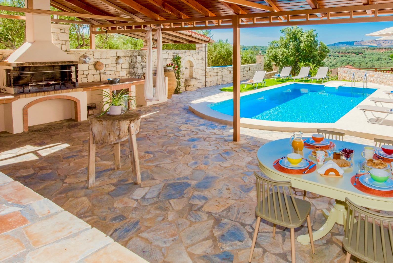 Ferienhaus Luxury Villa Korini with private swimming pool (2470495), Roumeli, Kreta Nordküste, Kreta, Griechenland, Bild 21