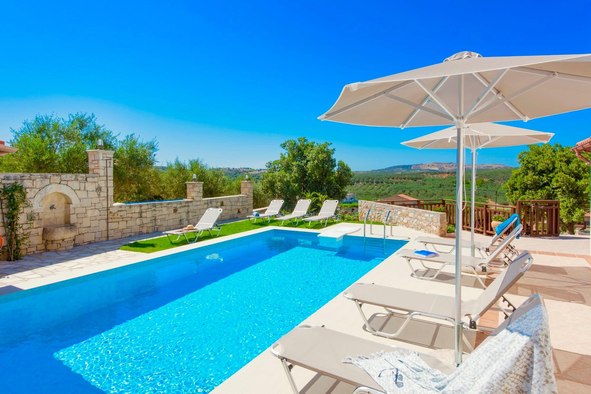 Ferienhaus Luxury Villa Korini with private swimming pool (2470495), Roumeli, Kreta Nordküste, Kreta, Griechenland, Bild 23