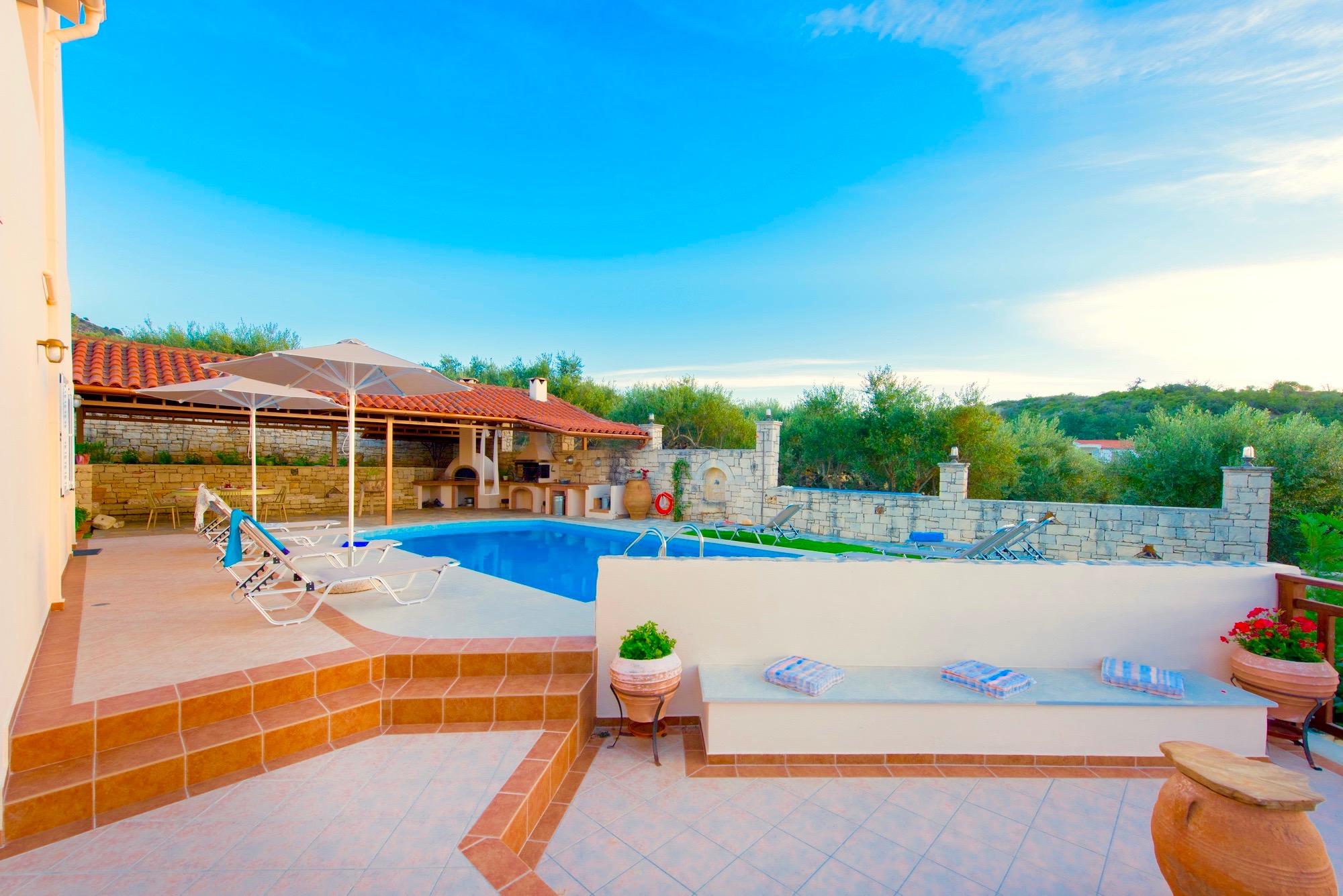 Ferienhaus Luxury Villa Korini with private swimming pool (2470495), Roumeli, Kreta Nordküste, Kreta, Griechenland, Bild 27