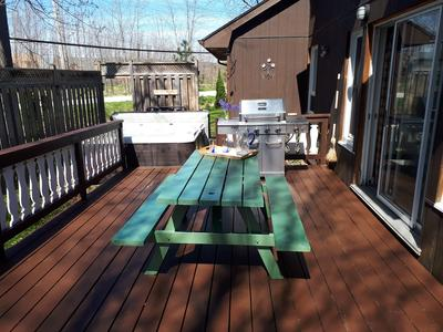 Apartment 6 Bed Blue Mountain Cottage with Hot Tub  102 - Sleeps 14 photo 20301918