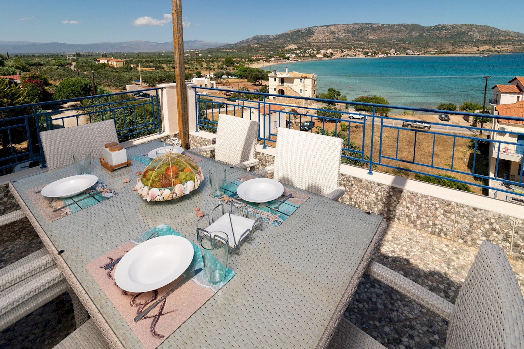 Holiday apartment SeaView flat few meters from the Beach (2654744), Daimonia, , Peloponnese, Greece, picture 3