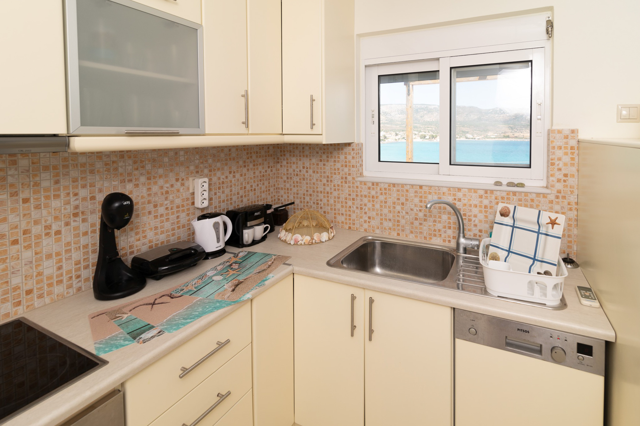 Holiday apartment SeaView flat few meters from the Beach (2654744), Daimonia, , Peloponnese, Greece, picture 24