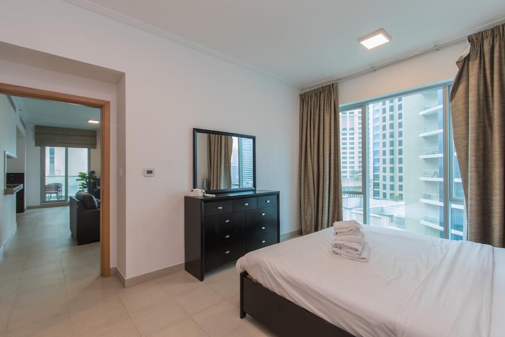 Tram in 3 Min Walk!! Spacious 1 Bed Apt. Aurora, Dubai Marina #603 photo 13923997