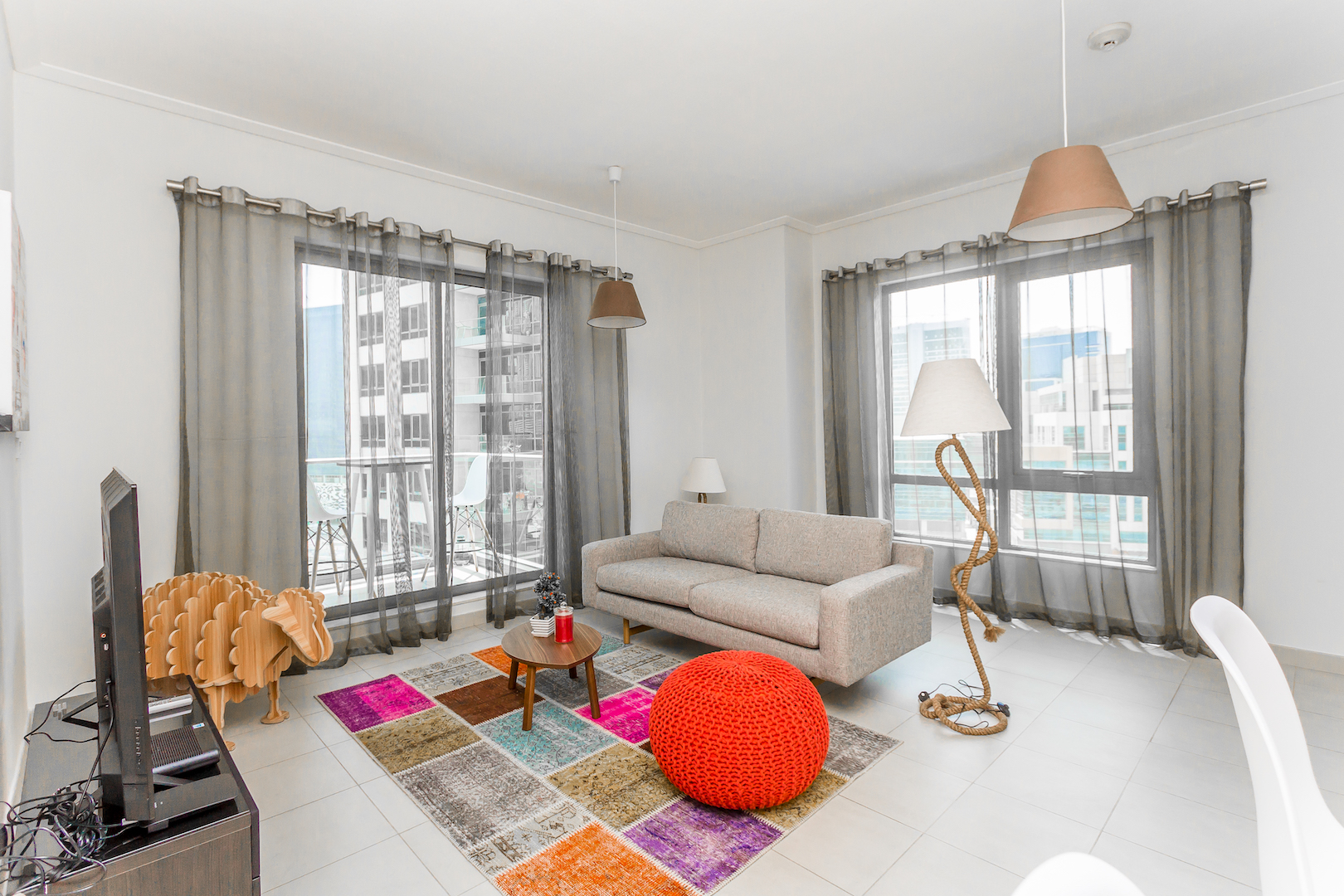 Cozy 1Bed with Partial Burj Khalifa View in South Ridge, Downtown photo 13907418