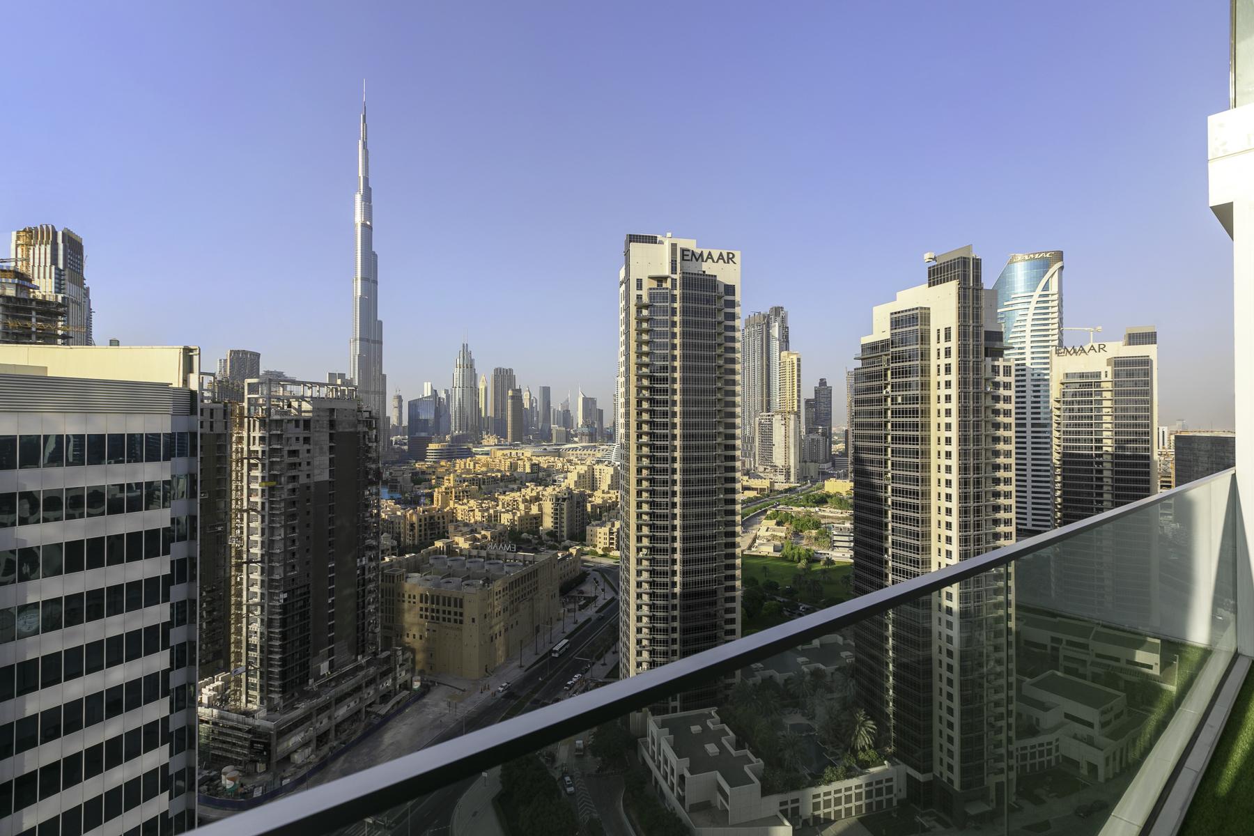 Brand New Comfy Burj Khalifa View Studio in Marquise Square, Business Bay # 2314 photo 16406917