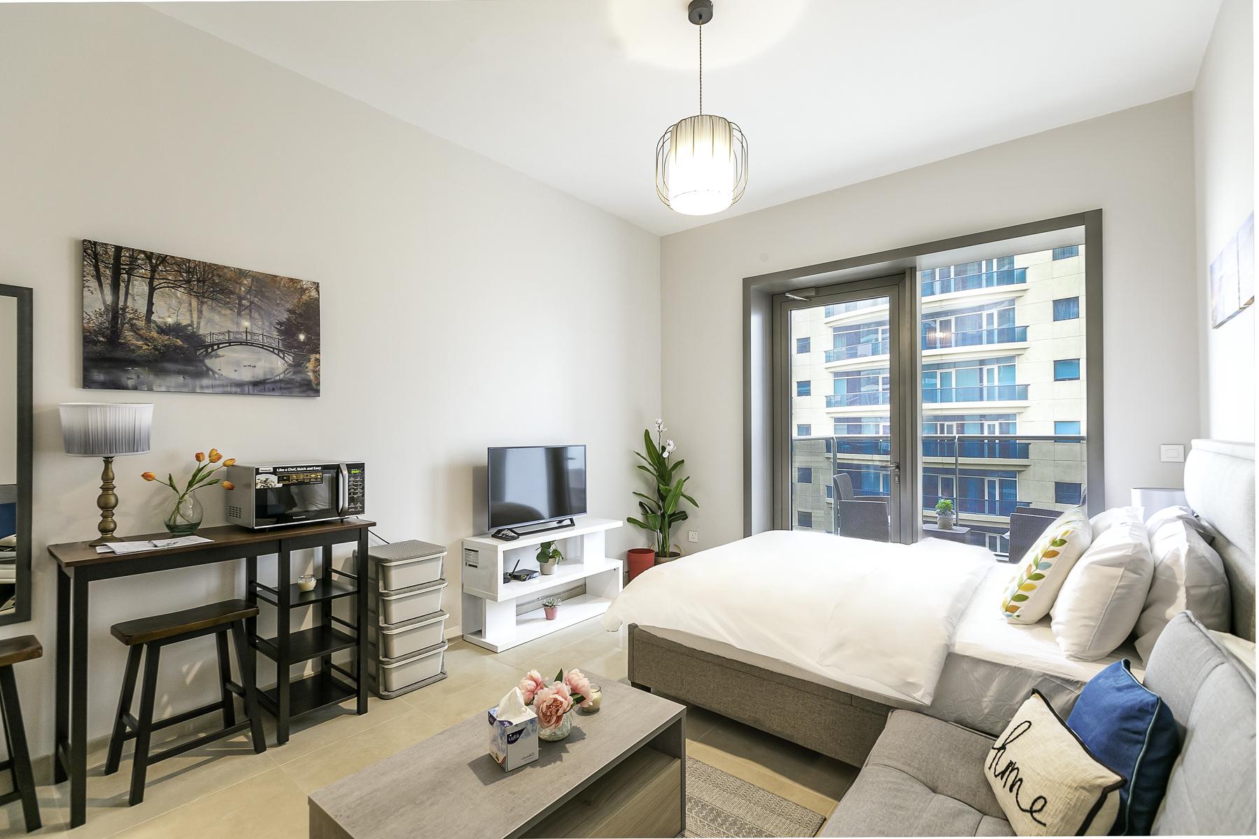 Apartment Brand New Studio Next To Tram   Amazing Marina View   JBR Beach Access  505 photo 20934860