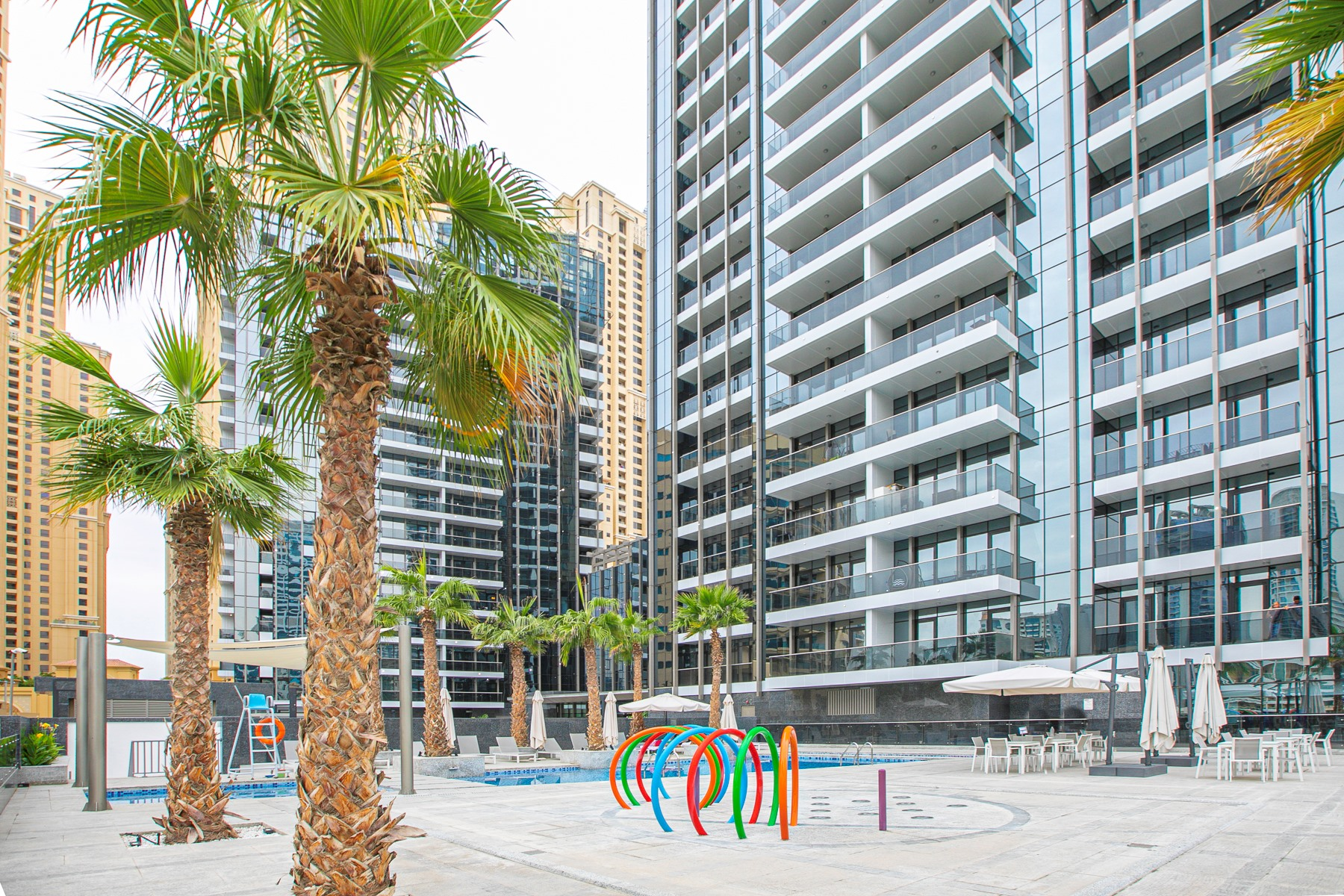 Apartment Brand New Studio Next To Tram   Amazing Marina View   JBR Beach Access  505 photo 20934902