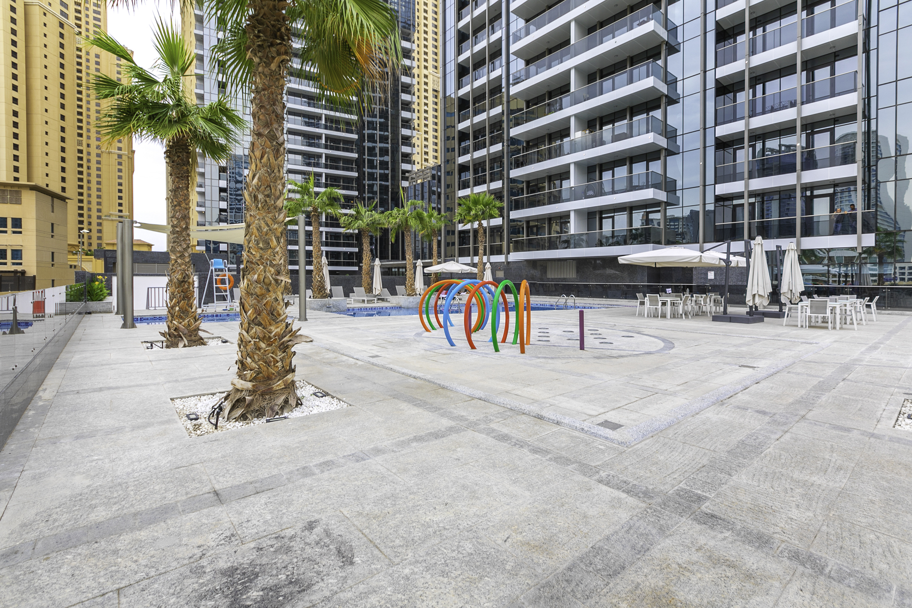 Apartment Brand New Studio Next To Tram   Amazing Marina View   JBR Beach Access  505 photo 20934900
