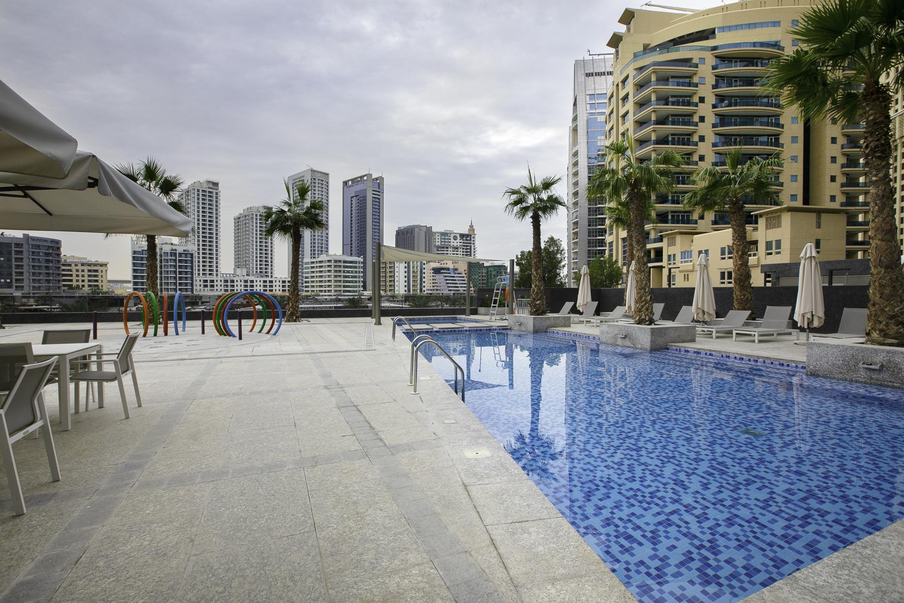Apartment Brand New Studio Next To Tram   Amazing Marina View   JBR Beach Access  505 photo 20934898