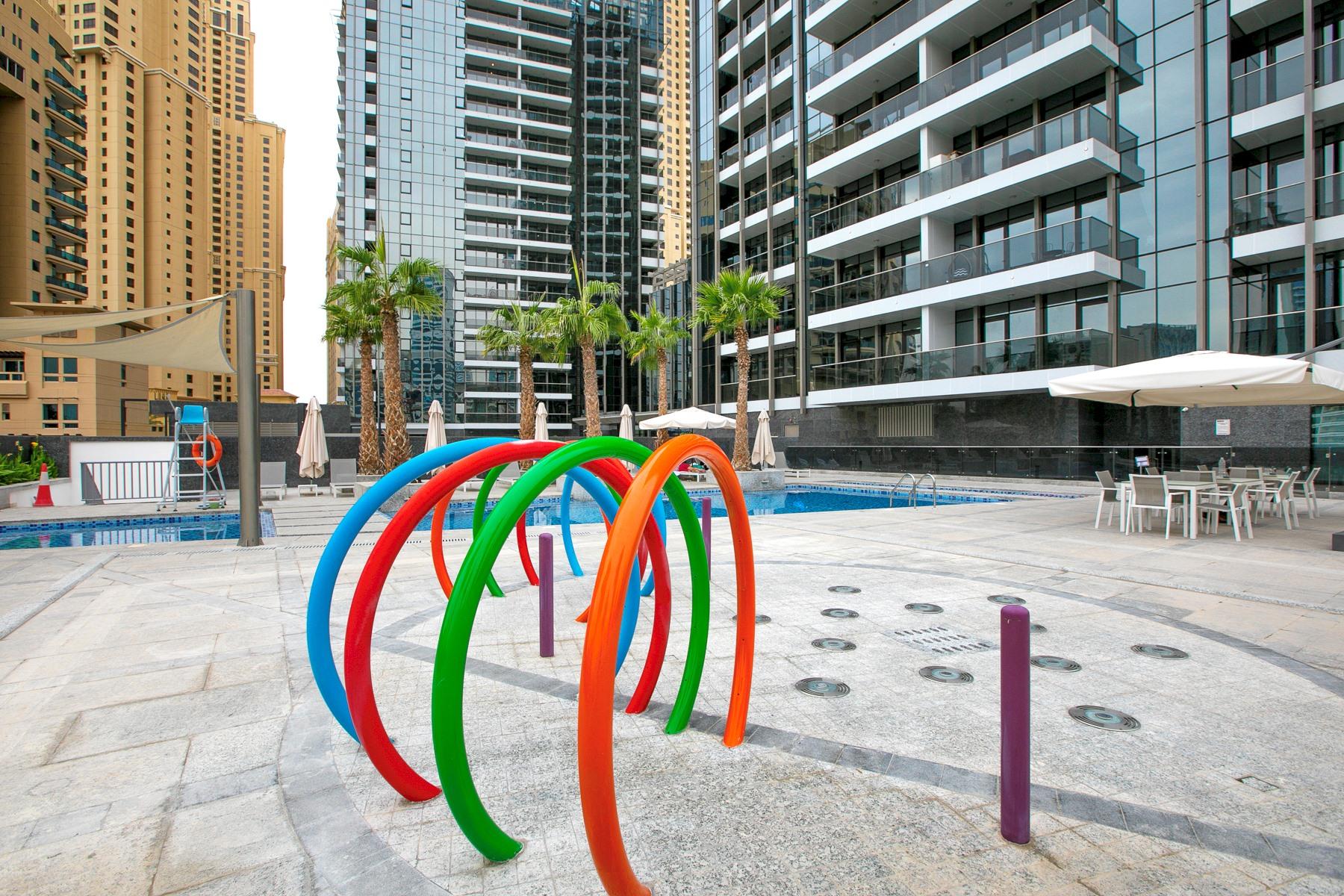 Apartment Brand New Studio Next To Tram   Amazing Marina View   JBR Beach Access  505 photo 20934904