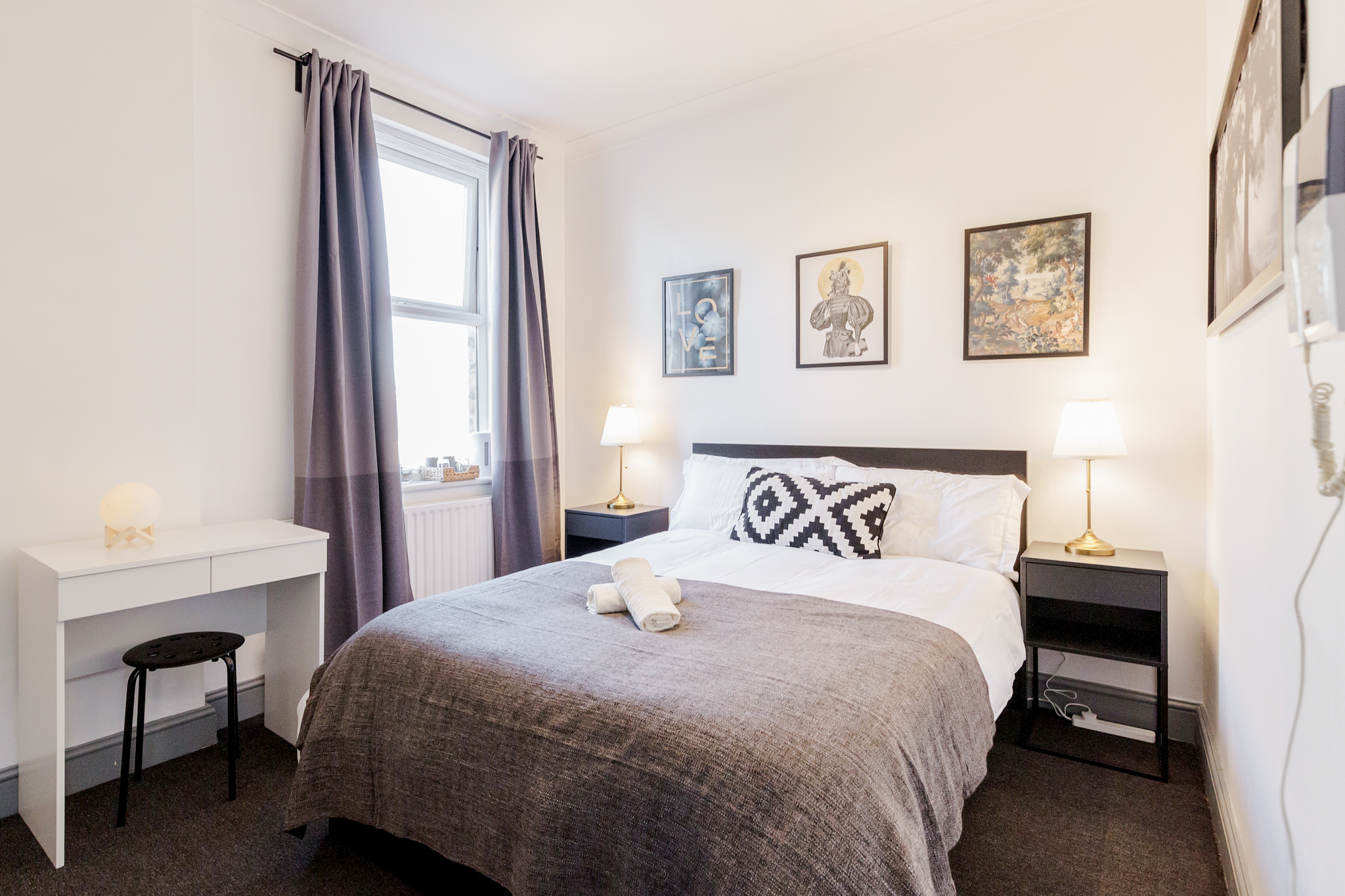 The Dark Room - Double room with private bathroom 10 minutes walk from Aldgate photo 13929576
