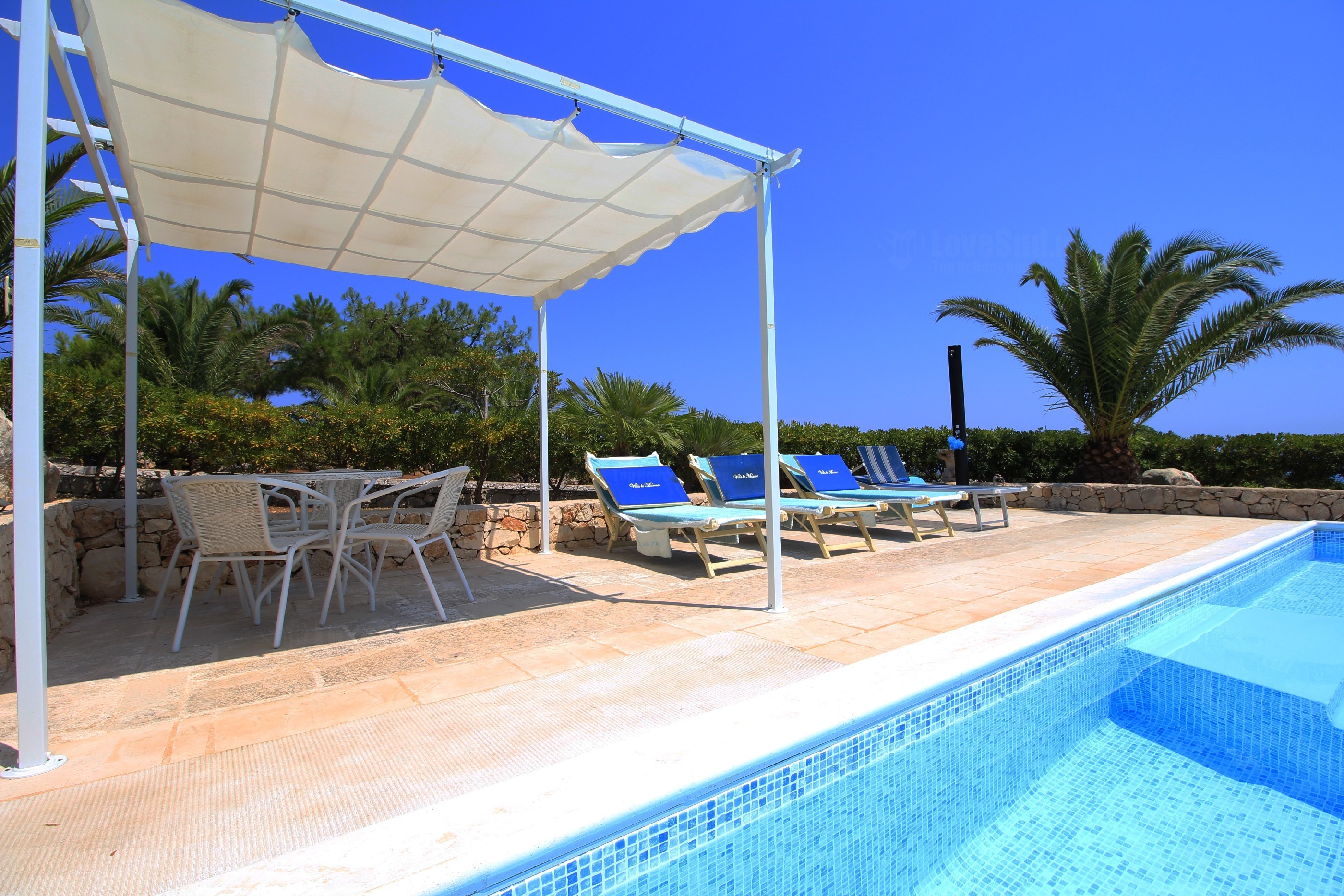 Apartment Stella Marina luxe pool home photo 20372289