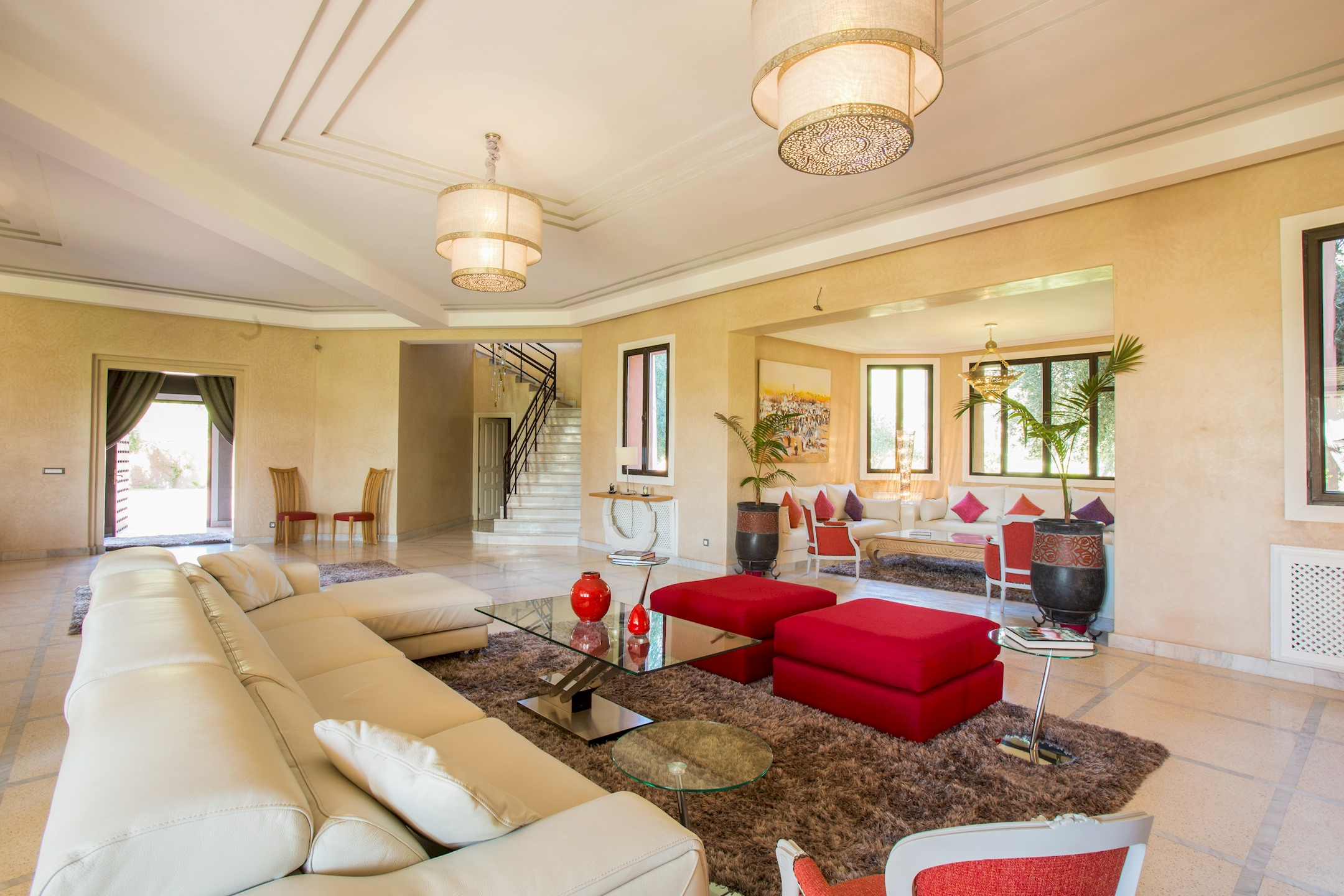 Apartment VILLA KOUTOUBIA - PISCINE CHAUFFEE  HAMMAM  JACUZZI  PETIT-DEJEUNER A MARRAKECH photo 20295909