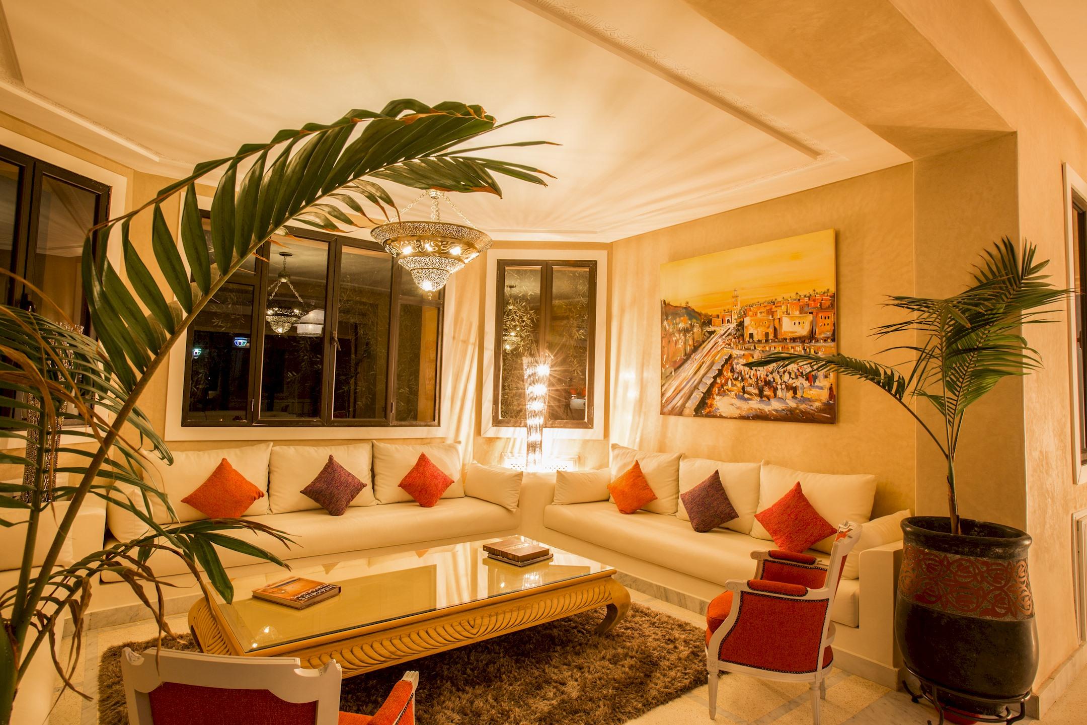 Apartment VILLA KOUTOUBIA - PISCINE CHAUFFEE  HAMMAM  JACUZZI  PETIT-DEJEUNER A MARRAKECH photo 20159663