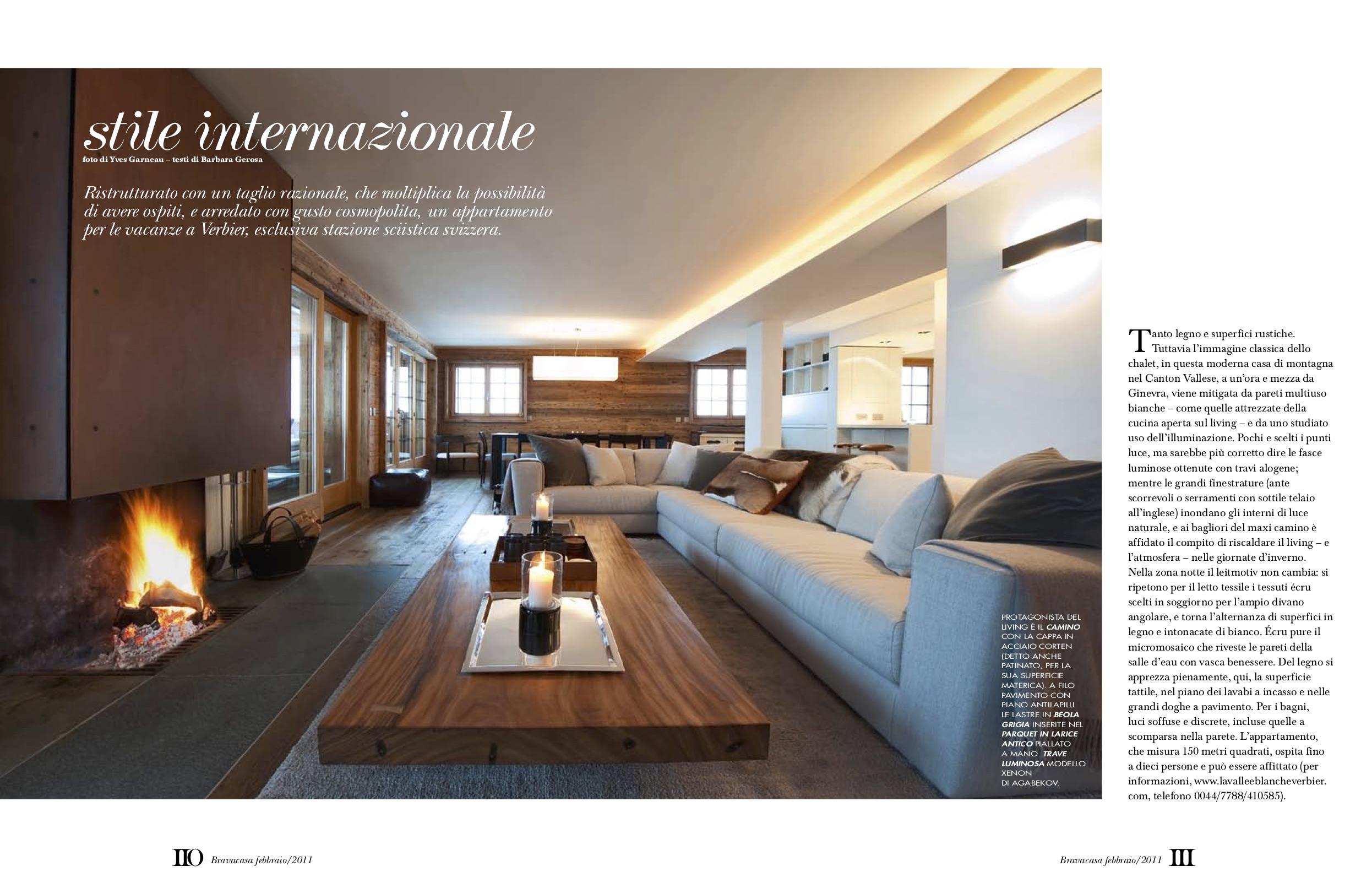 Case Arredate Con Gusto 104 la vallèe blanche, luxury 170 sq mtr, 4 bedroom chalet