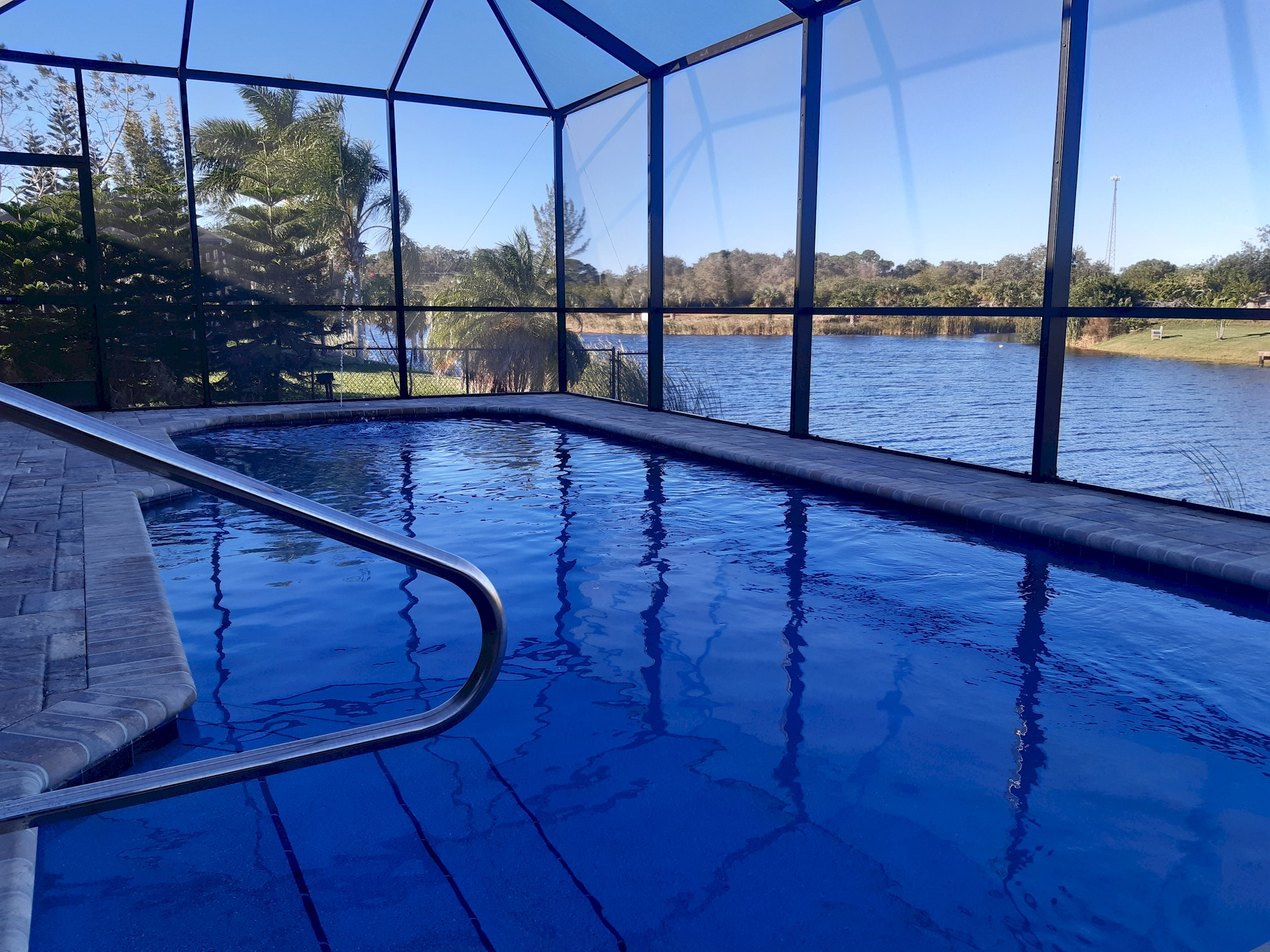 Apartment Stunning BRAND NEW 3 bed home  fabulous pool overlooking river   photo 25100543