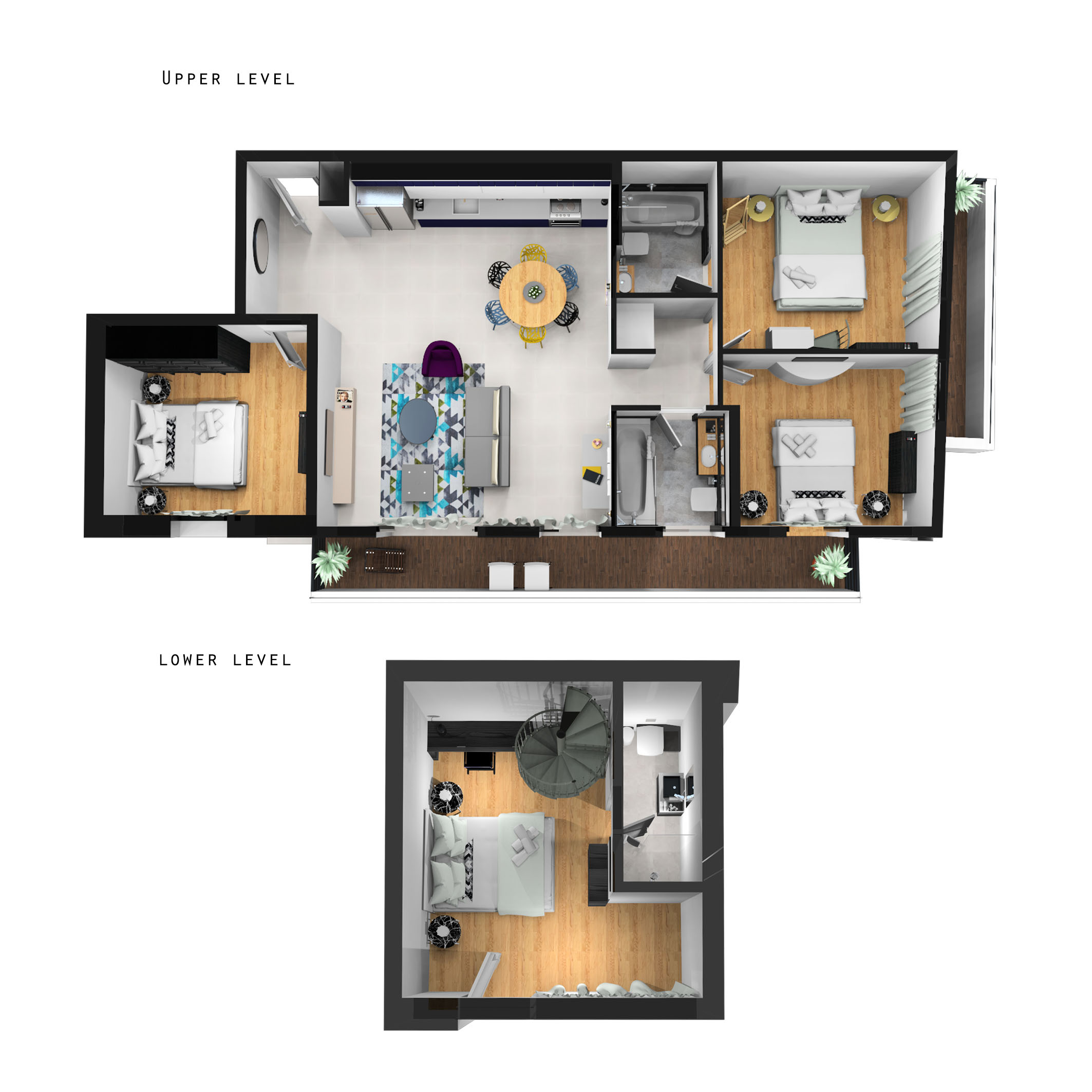 Apartment Four Bedroom Apartment With Balcony photo 19018457