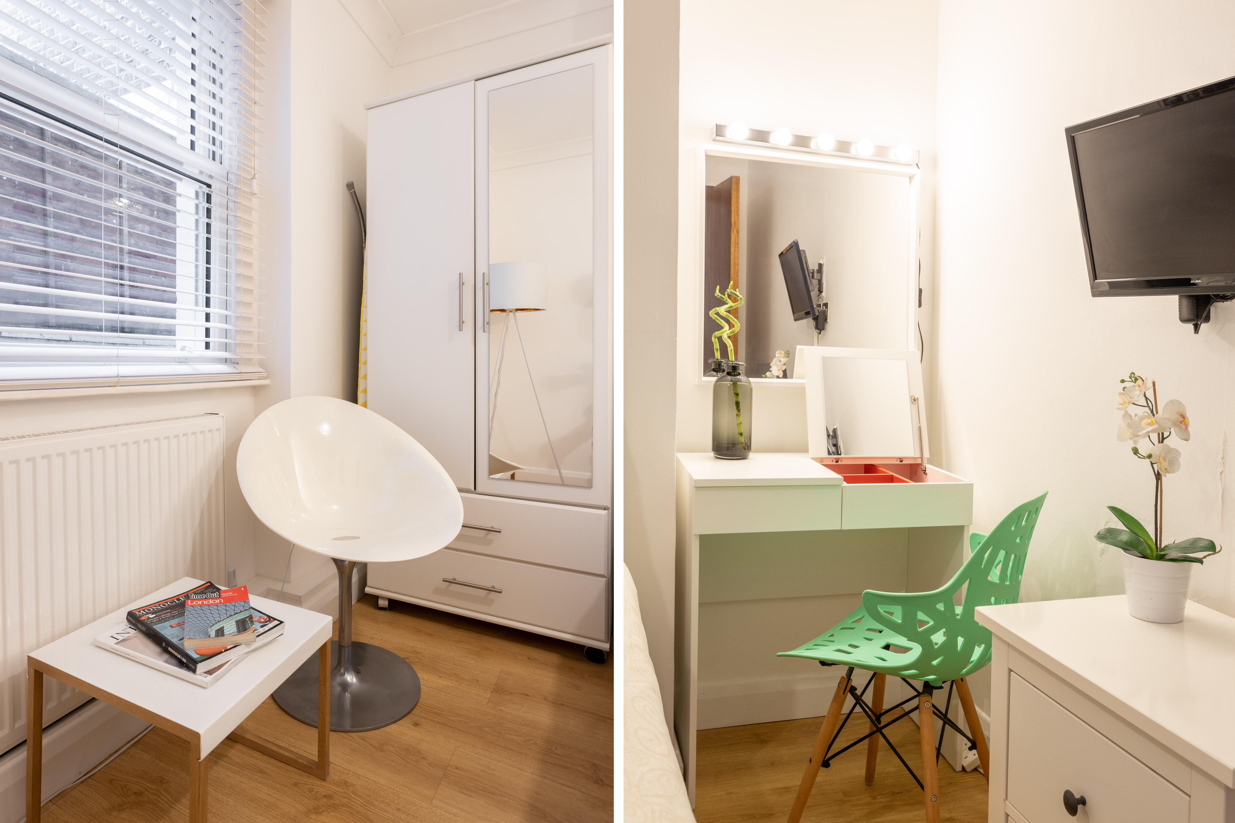 King's Cross Eurostar Double Room - Shared Bathroom - Shared Kitchen (ROOM 4) photo 26059381