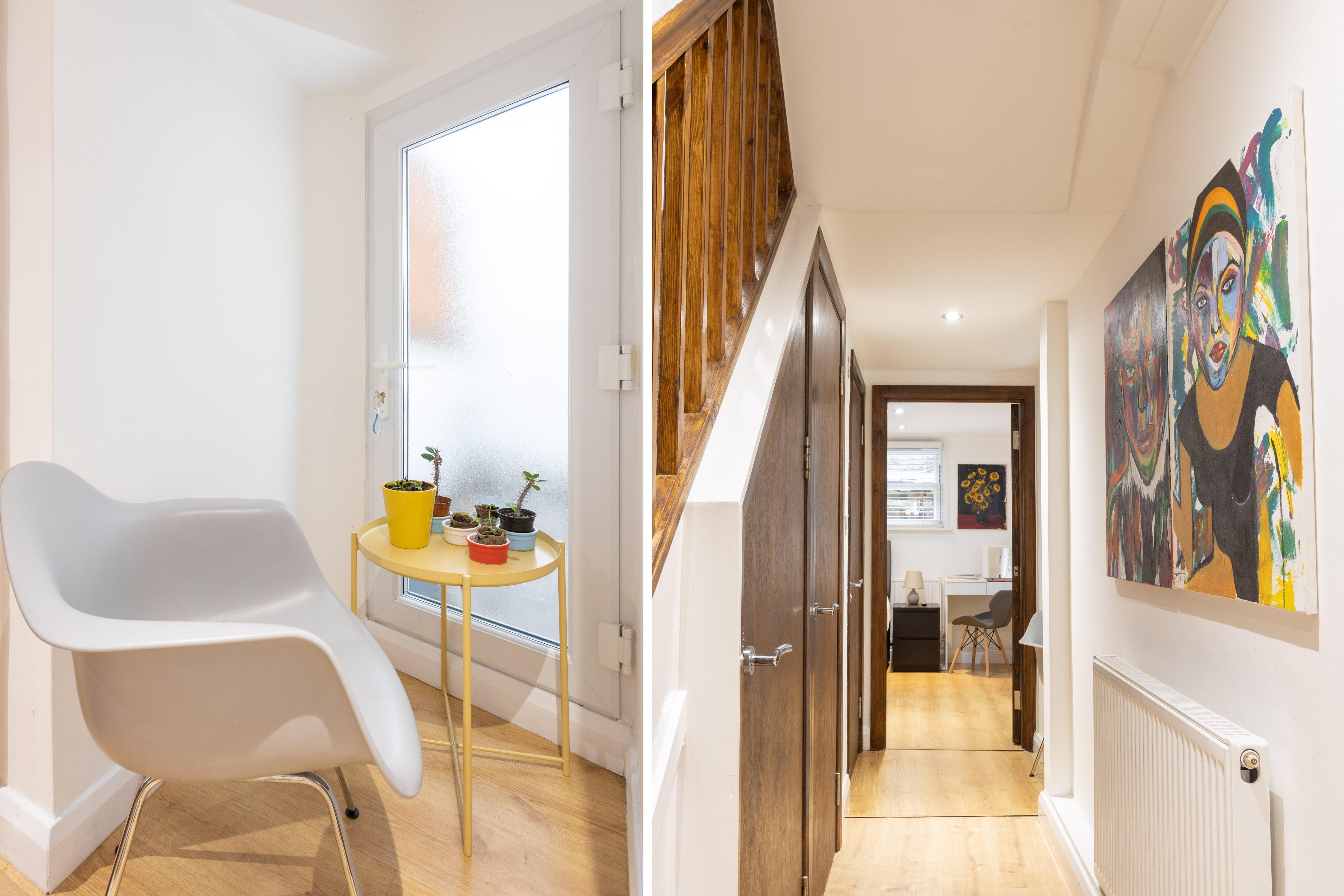 King's Cross Eurostar Double Room - Shared Bathroom - Shared Kitchen (ROOM 4) photo 26059382