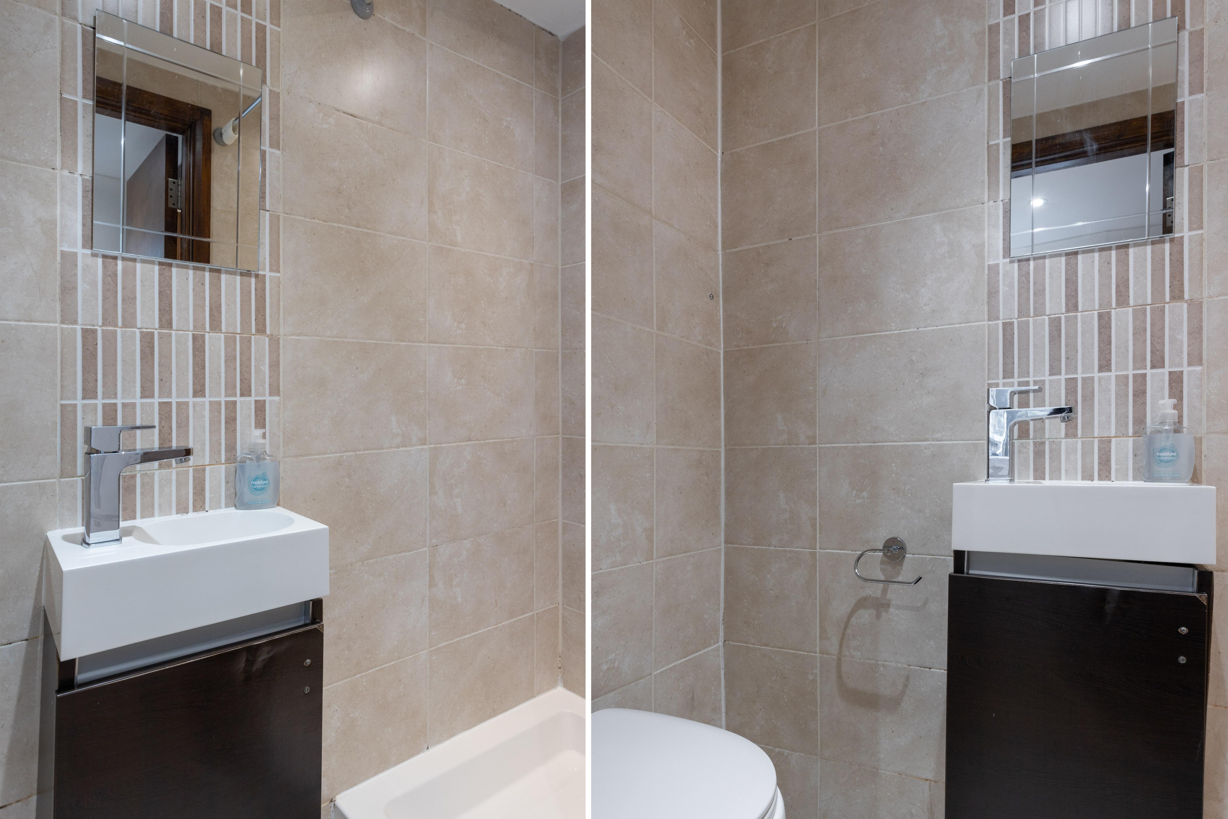 Apartment King s Cross Eurostar Double Room - Shared Bathroom - Shared Kitchen  ROOM 4  photo 26059387