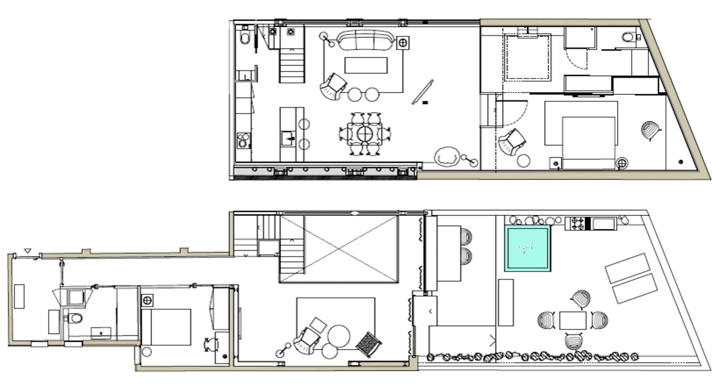 Apartment Luxury Apartment 2 bedrooms Loft 1 photo 23407522