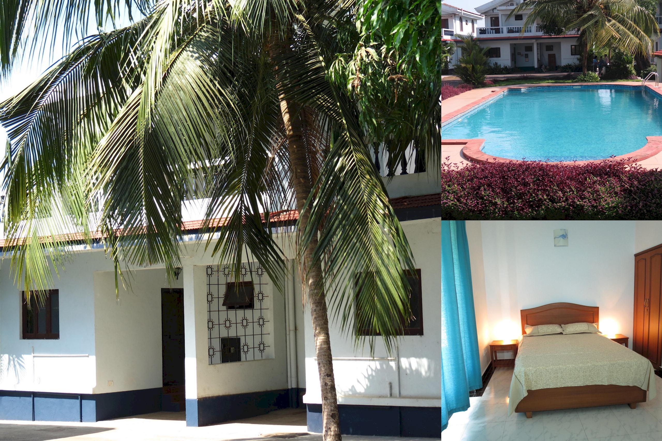 Apartment 10  Spacious  serviced villa central arpora    WiFi photo 18488515