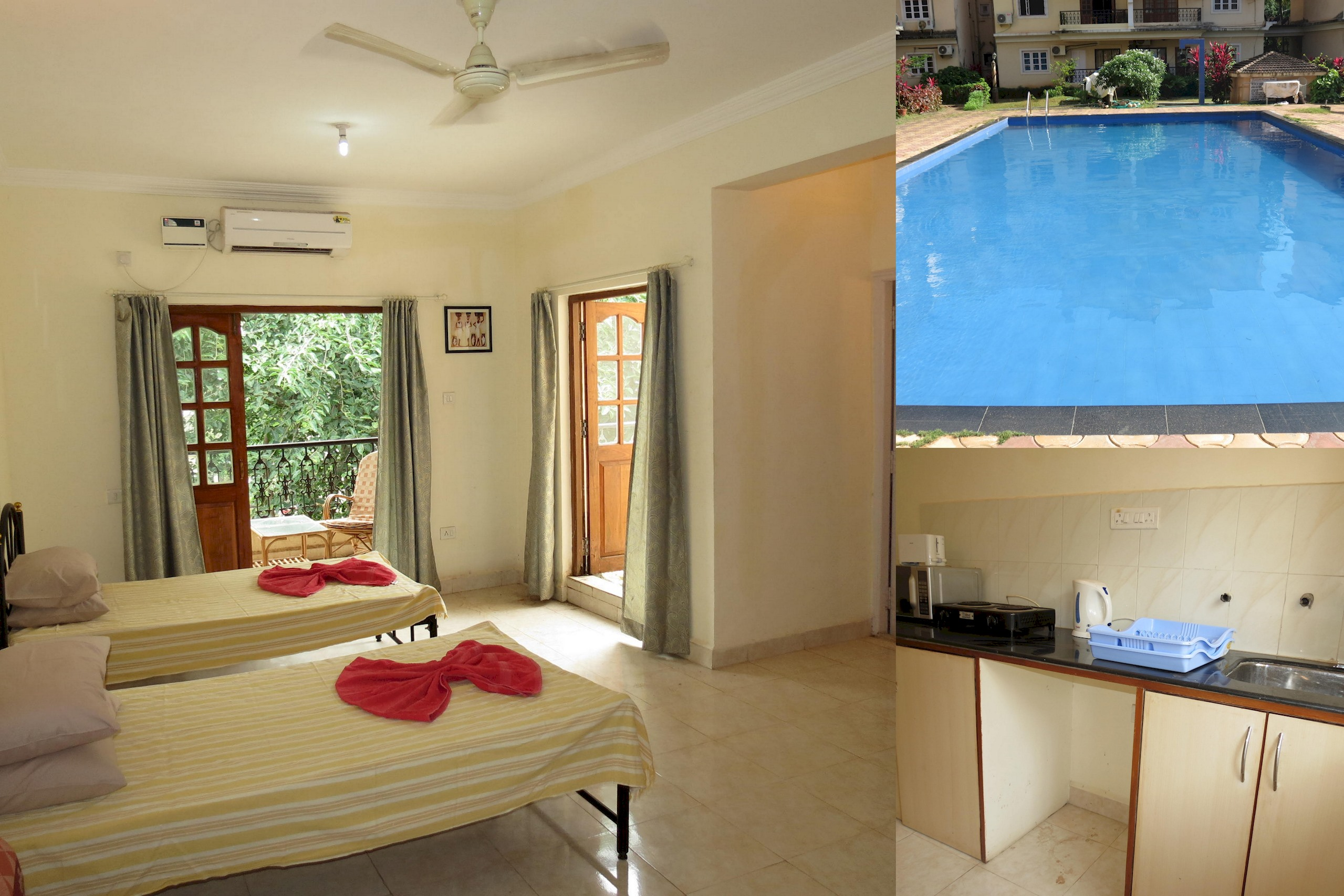 Apartment 37  Central Calangute Serviced Apartment   WiFi photo 20413545