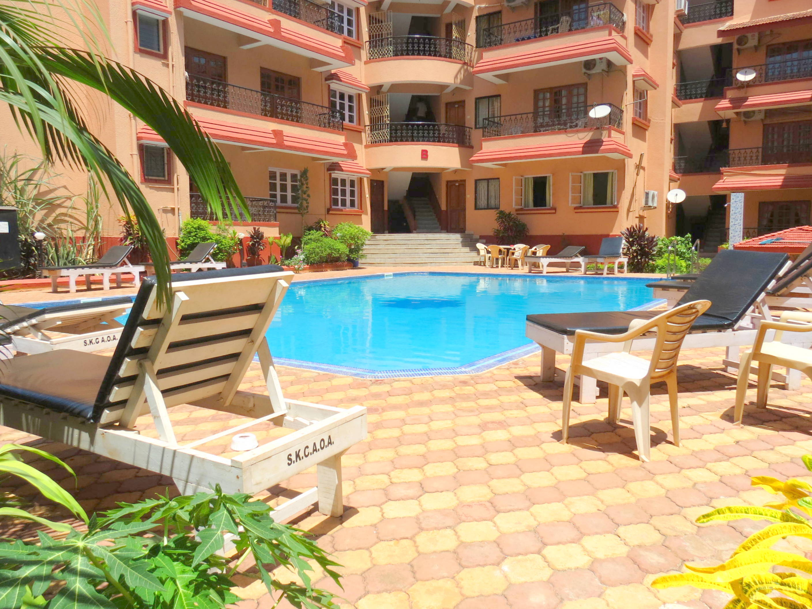 41) Serviced Apartment Calangute/Baga Sleeps 4 photo 13951209