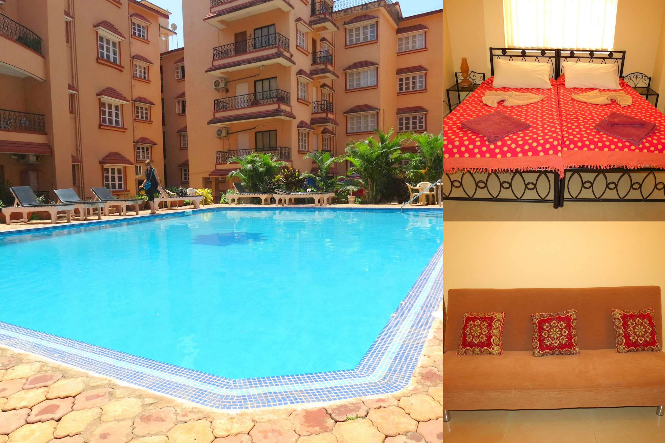 Apartment 41  Serviced Apartment Calangute Baga Sleeps 4 photo 18914502