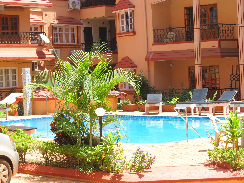 Apartment 41  Serviced Apartment Calangute Baga Sleeps 4 photo 18586876