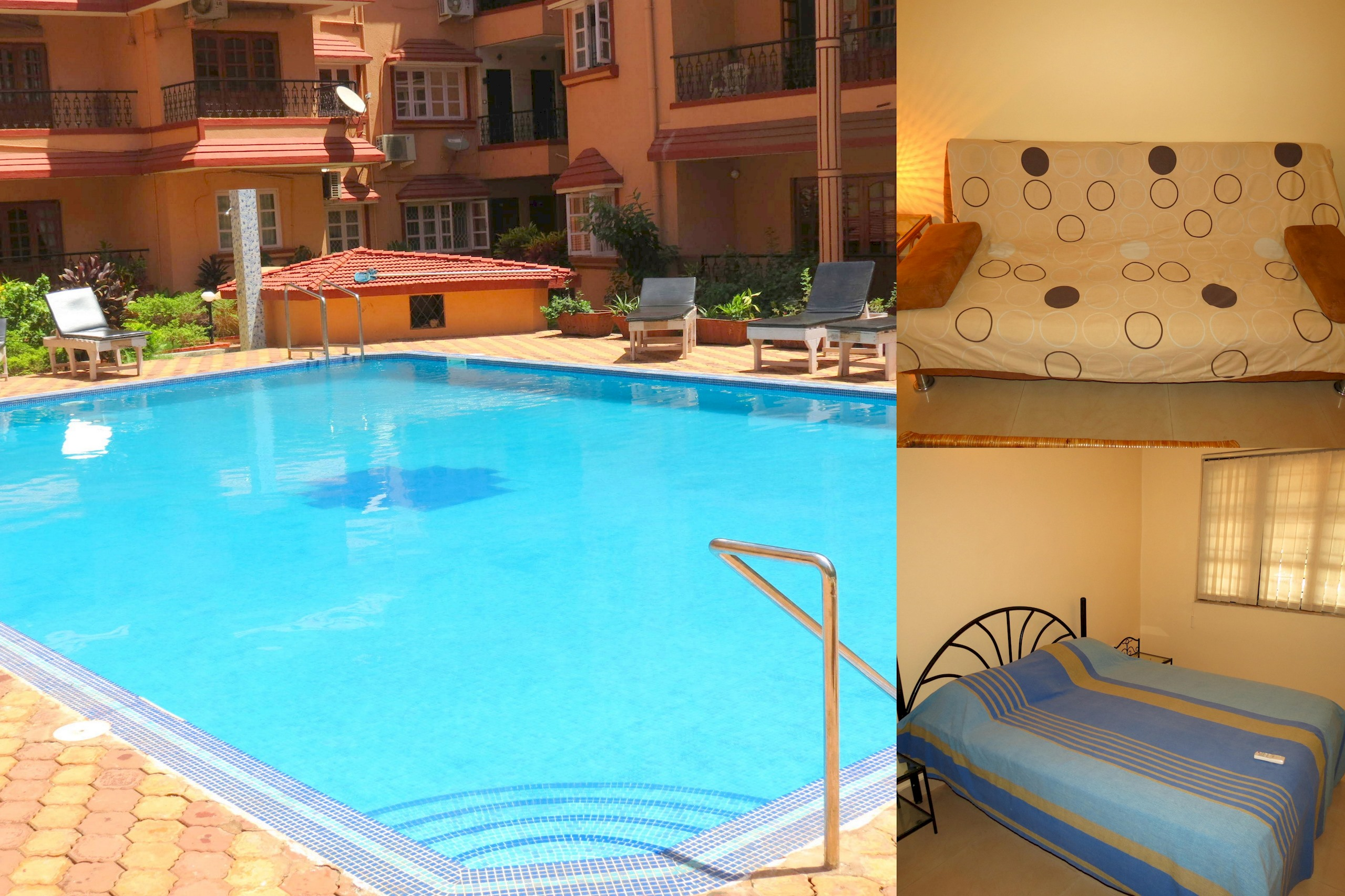 Apartment 42  Serviced Apartment Calangute Baga Sleeps 4 photo 20414381